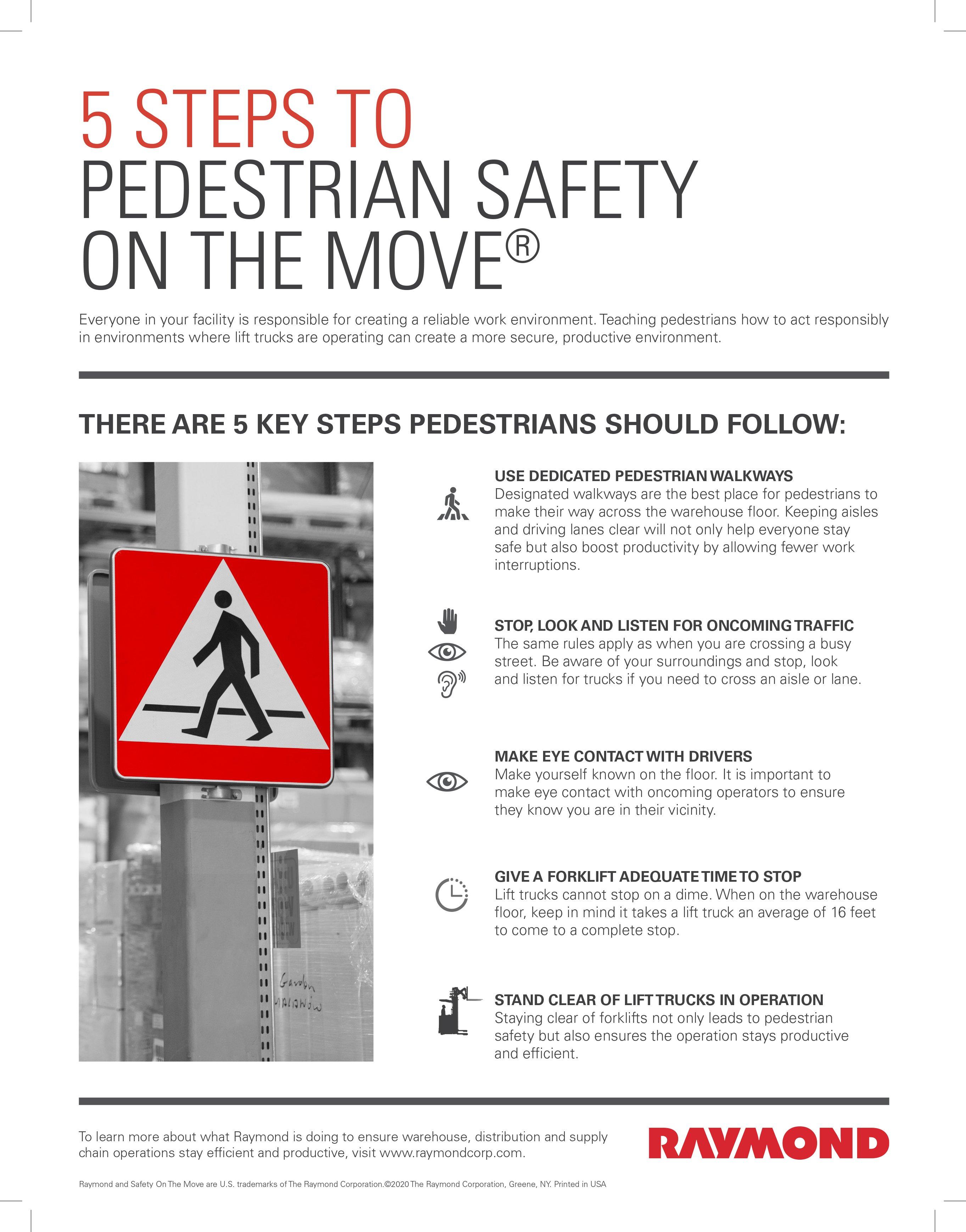 TIPS Week 3 - Pedestrian Safety Flyer